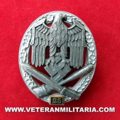 Distintivo de Asalto General 25
