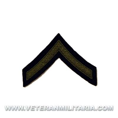 Galón de Soldado de 1ª (U.S. Private First Class)