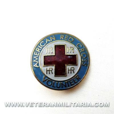 Insignia de la Cruz Roja Americana Voluntarias