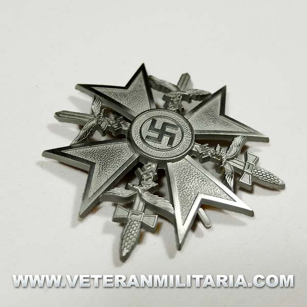 Cruz de España de la Legión Cóndor Plata