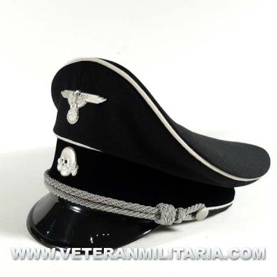 Gorra de plato Oficial SS Allgemeine