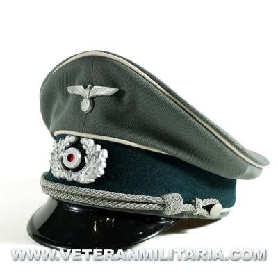Gorra de plato Oficial Wehrmacht
