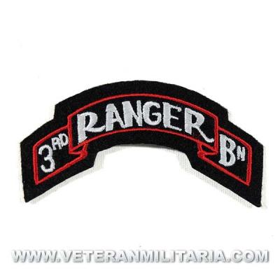 Parche del 3nda Batallón Ranger U.S.