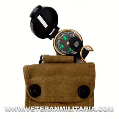 Compas Lensatic + Bolsa U.S.
