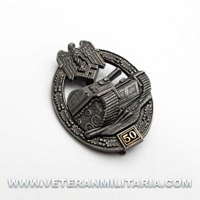 Distintivo de Lucha con Carros de Combate 50 (Envejecida)