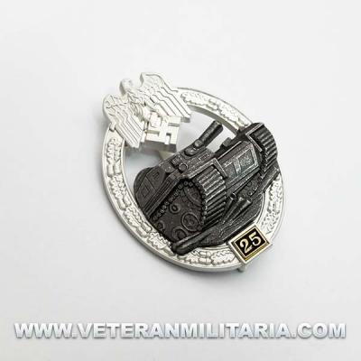 Distintivo de Lucha con Carros de Combate 25