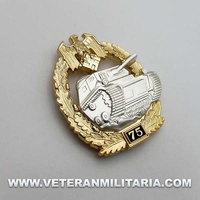 Panzer Assault Badge 75
