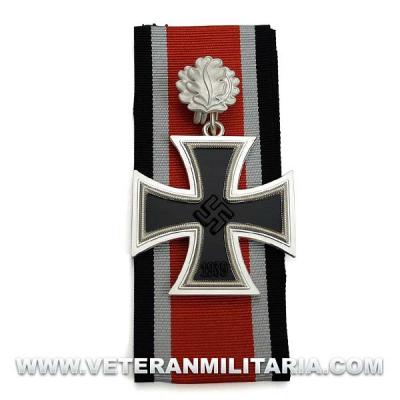 Cruz de Caballero de la Cruz de Hierro con hojas de roble 3 piezas