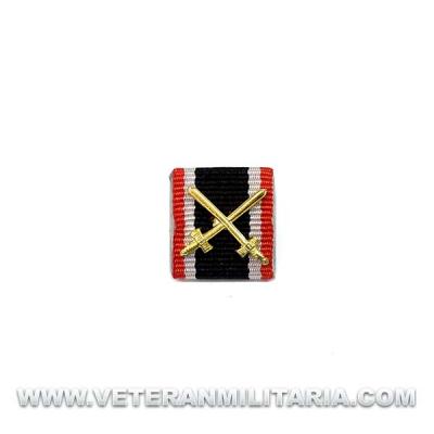 Ribbon War Merit Cross 2nd Class with Swords
