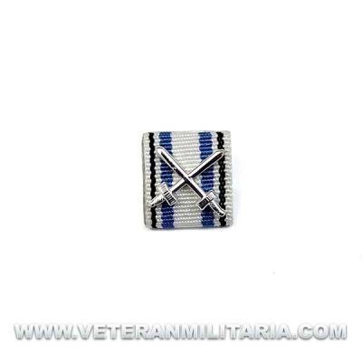 Ribbon Medal Bavarian Merit Cross 4th Class with Swords