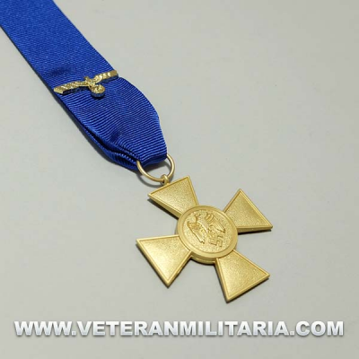 Heer 25 Year Service Medal with Ribbon