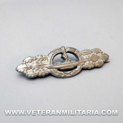 U-boat Front Clasp in Silver
