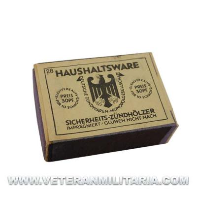 German Matchbox HAUSHALTSWARE