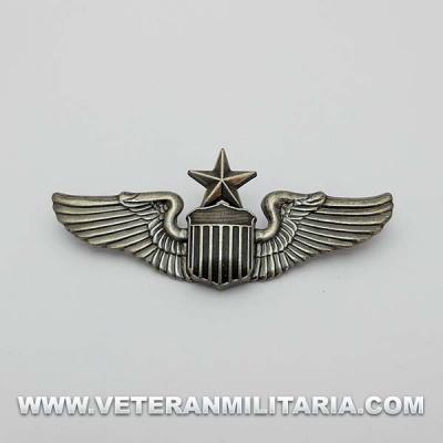 Insignia Alas de Piloto Sénior USAAF
