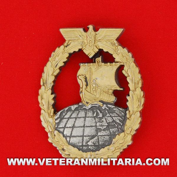 Distintivo de Combate de Cruceros Auxiliares