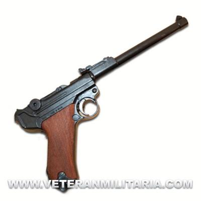 Pistola Luger P08 Artillería. Denix