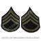 US Original Staff Sergeant Patches