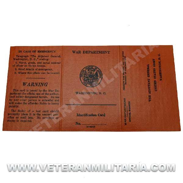 US Troop Identification Card