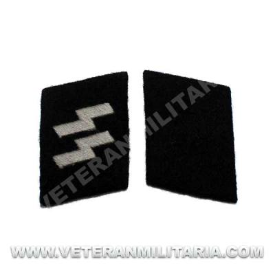 SS-Schutze rune collar patches