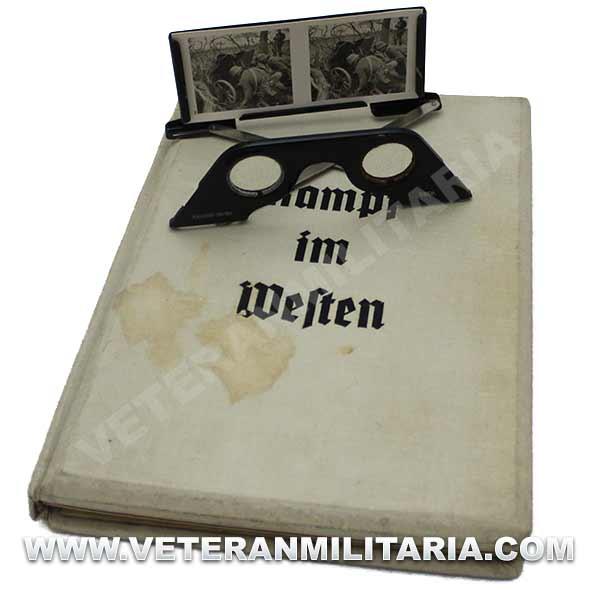 3D Photo Album Der Kampf im Westen 1940