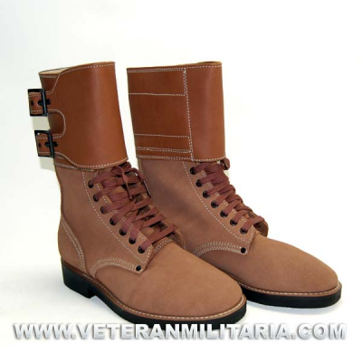 Buckle boots M43
