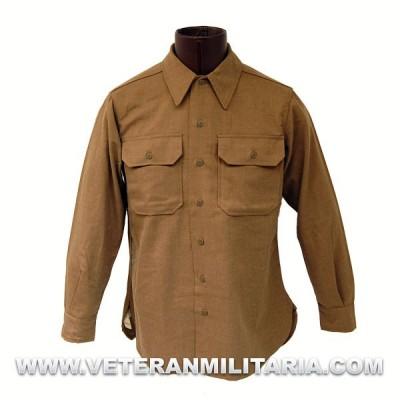 "U.S. Army ""Mustard"" Wool Service Shirt"