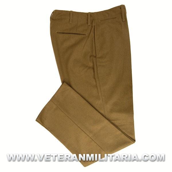 "U.S. Army M-1937 ""Mustard"" Wool Field Trousers"