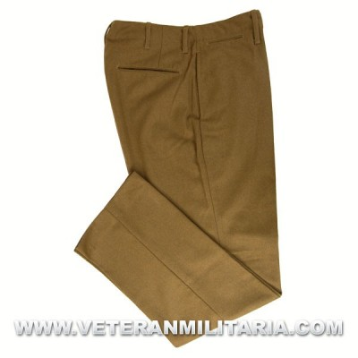 "U.S. Army M-1937 ""Mustard"" Wool Field Trousers"
