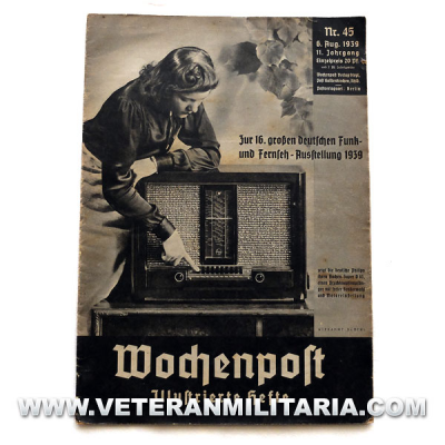 German Magazine Wochenpost No.45