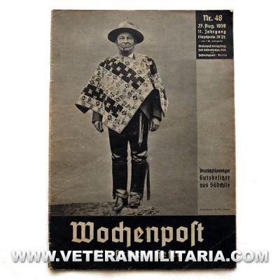Revista alemana WOCHENPOST No. 48