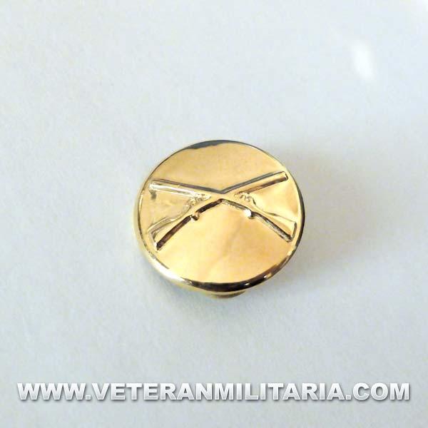 Collar disk, Infantry