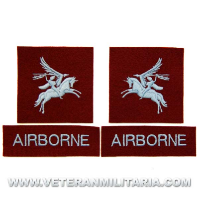 Patch, British Army Airborne Pegasus