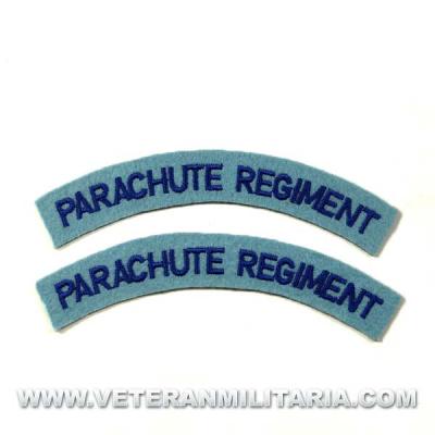 Parche Británico Parachute Regiment
