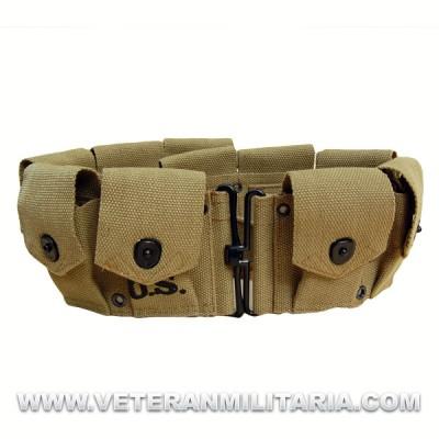 Cinturón porta cargadores Garand M1