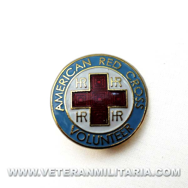 Badge of the American Red Cross Voluntary