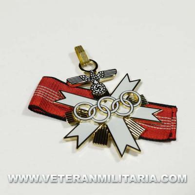Medalla Juegos Olímpicos de Berlín. 1936.