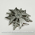 Spanish Cross with Swords Silver