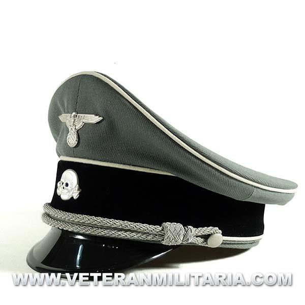 Gorra de plato Oficial Waffen SS 07f36d4565e