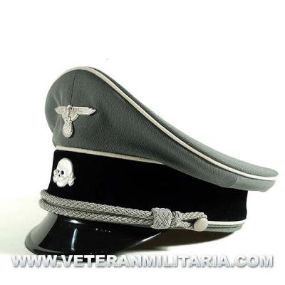 Waffen SS Officer Visor Cap