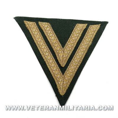 Army Obergefreiter sleeve chevron DAK