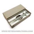 Original US WW2 glass syringe in box.