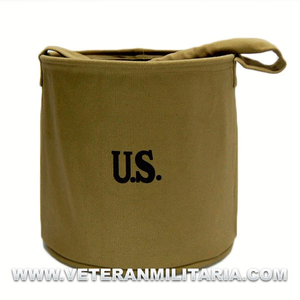 U.S. Water Bucket, Canvas