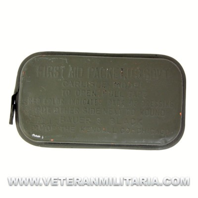U.S. Army Military First Aid Packet (Original OD)