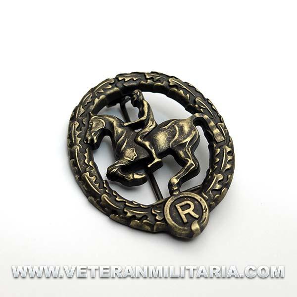 German Horsemans Badge Bronze