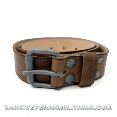 Russian Leather Belt