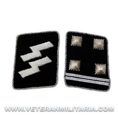 Parches de Cuello SS Obersturmbannführer – Teniente Coronel
