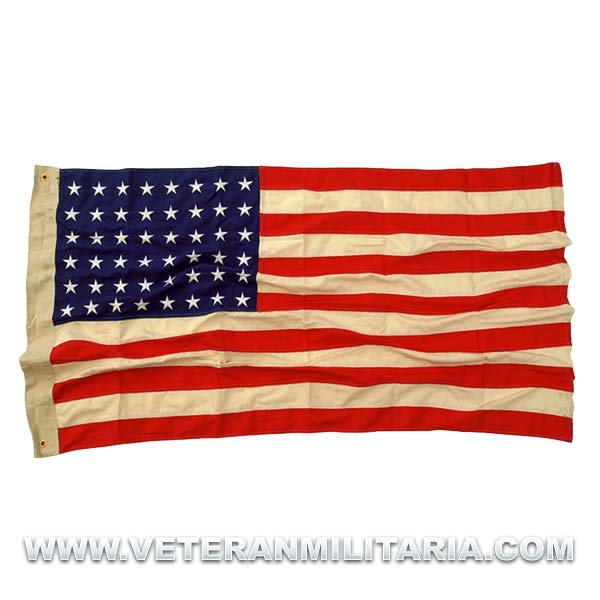 USA flag 48 stars WW2