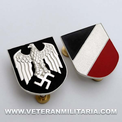 Badges for Salacot Afrika Korps