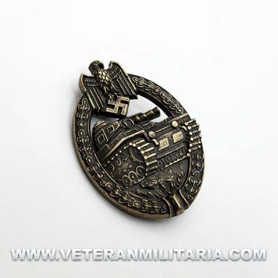 Distintivo de Lucha con Carros de Combate (bronce)