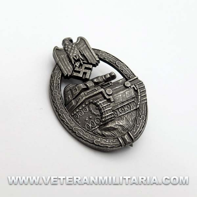 Panzer Assault Badge (Antique Finish)